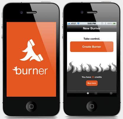 get disposable phone numbers through burner app   iphone