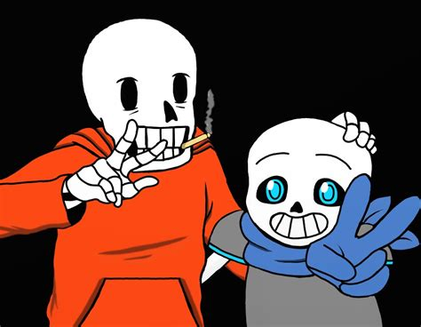 papyrus underswap wikia wikia undertale au underswap sans and papyrus by