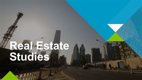 Mba Real Estate Economics by Real Estate Initiative Unsw Business School