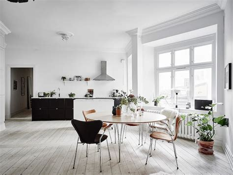 Porte à Galandage 791 by My Scandinavian Home A Picture Of Calm In A Swedish Home
