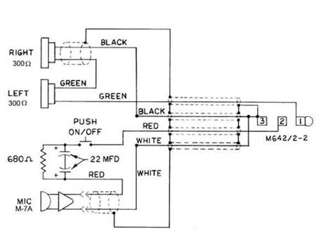 david clark headset wiring diagram david clark h10 80