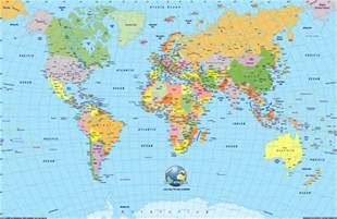 World Map With Labels skyejuice daily dose of inspiration around the world