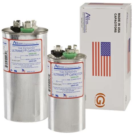 capacitors made in usa amrad universal run capacitors made in the usa