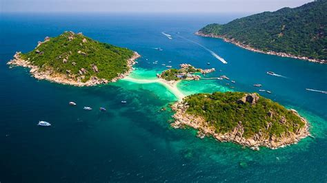 thailand beautiful view   air  koh tao island