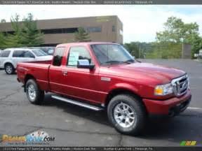 2010 Ford Ranger Xlt 2010 Ford Ranger Xlt Supercab 4x4 Redfire Metallic