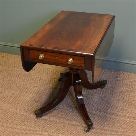 mahogany drop leaf dining table regency figured mahogany antique drop leaf dining