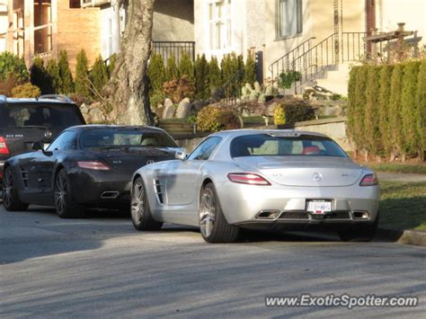 Mercedes Vancouver by Mercedes Sls Amg Spotted In Vancouver Bc Canada On 02 01 2012
