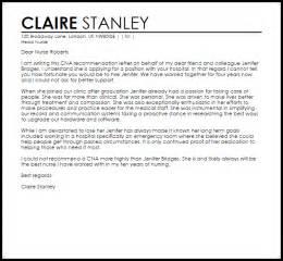 cna cover letter sles cna reference letter reference letters livecareer