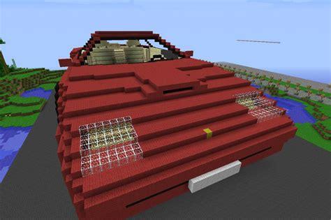 minecraft ferrari ferrari minecraft project
