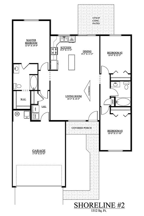 design a floor plan the shoreline 1312 floor plans listings viking homes