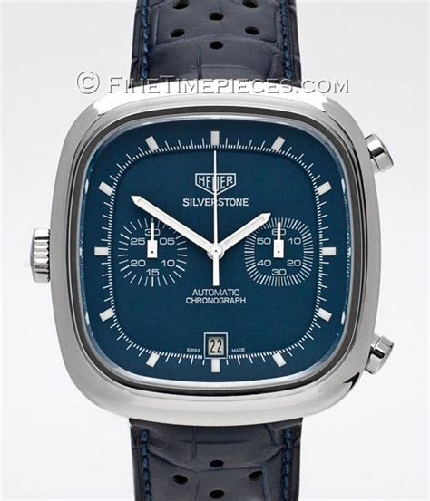 Tag Heuer Silverstone Calibre 11 Blue tag heuer silverstone calibre 11 chronograph limited