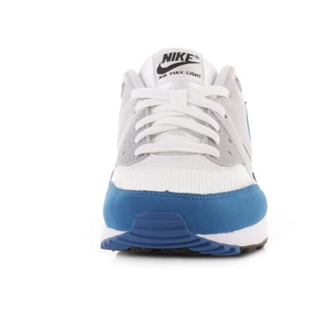 mens nike air max light essential blue white trainers