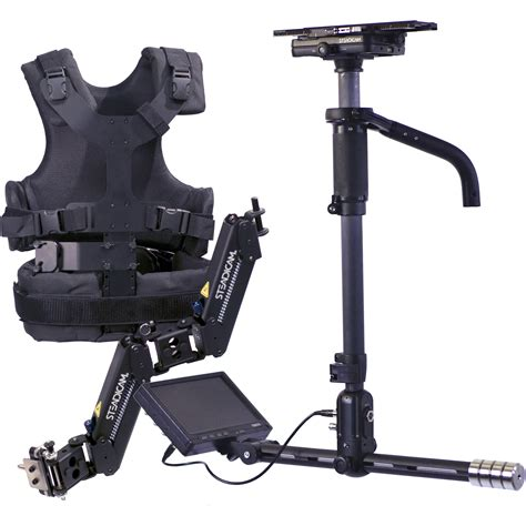 stedy cam steadicam aero stabilizer with a 15 arm vest and a hdnn15 b h