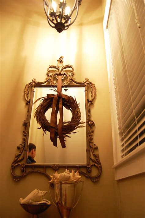 decorating secret 5 hang a mirror in every room decorate with wreaths inside