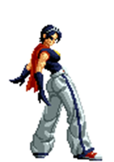 imagenes gif king of fighter may lee king of fighters animations