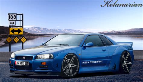 Liberty Walk Skyline by Liberty Walk Nissan Skyline Pictures To Pin On