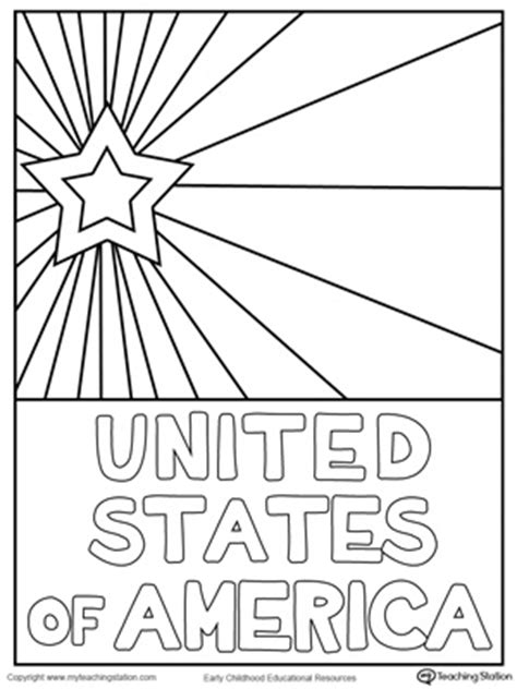 usa coloring pages for preschool usa starburst coloring page american independence