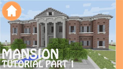 build a mansion minecraft tutorial how to build a mansion in minecraft 1