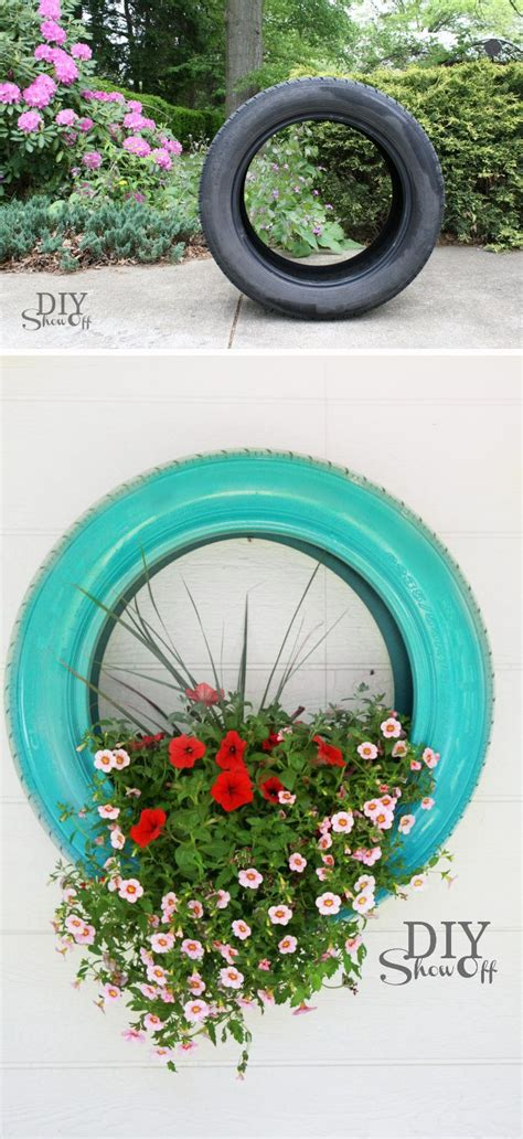 25 best ideas about tire planters on tire