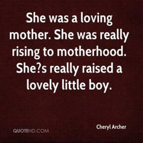 Archer Cheryl Quotes