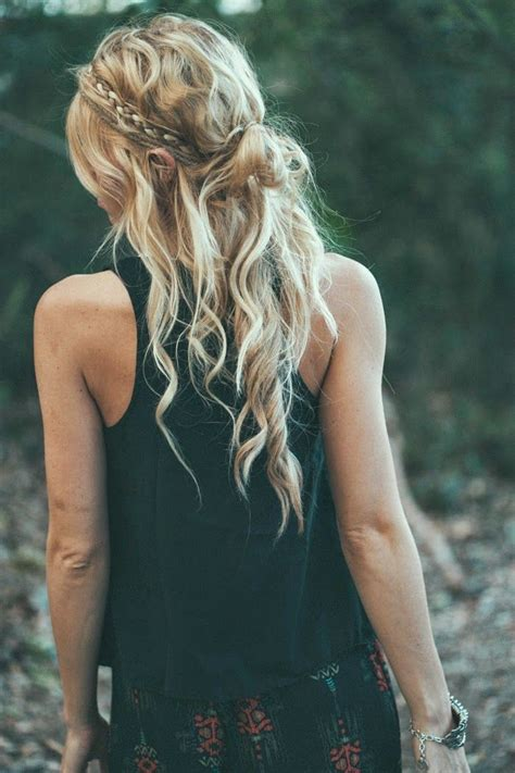 beautiful hairstyles pinterest beautiful hair and top 12 pretty hairstyle for bohemian girl easy beauty