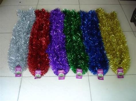 sell decorative christmas tinsel garland id 17407408 from
