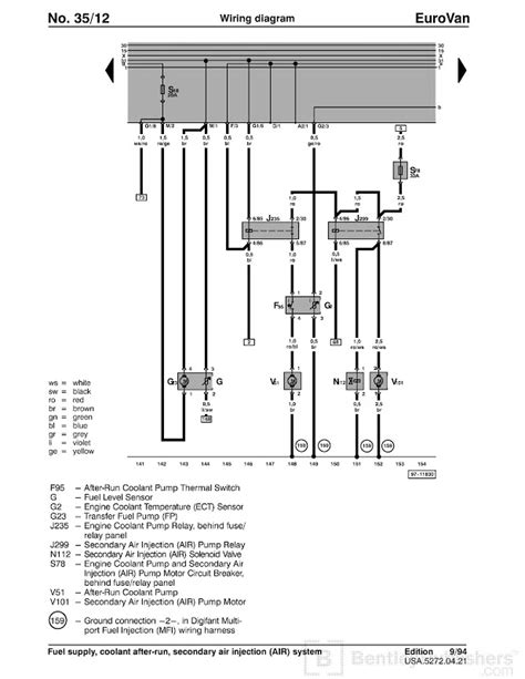 eurovan wiring diagram 22 wiring diagram images wiring
