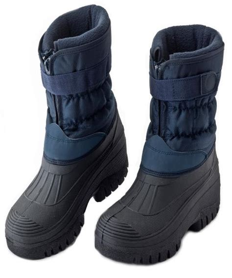 mens stable boots mens fleece lined winter snow muck boots boys yard stable