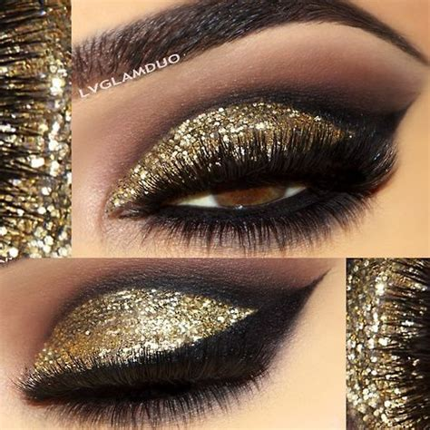 Nyx Glitter the 25 best gold glitter eyeshadow ideas on