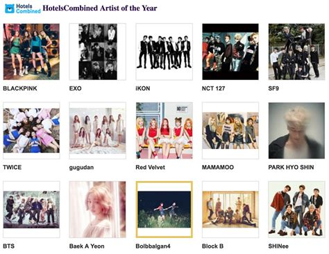 blackpink mama 2016 nominees for 2016 mama announced soompi