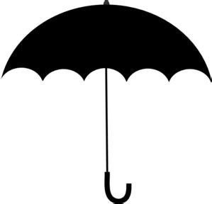 Black And White Designs Black Umbrella Clipart Best