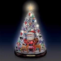 rudolph holly jolly christmas tree brand new by bradford