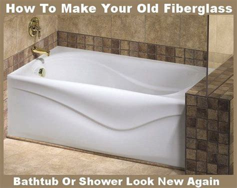 how to clean an old stained bathtub make fiberglass tub shower new again cleaning ideas