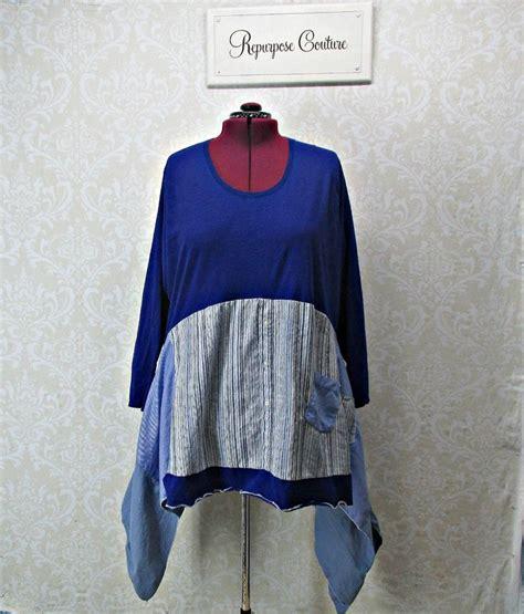 Mory Mory Tunic plus size clothing size 3x upcycled tunic boho clothing