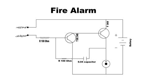 wiring diagram for conventional alarm system