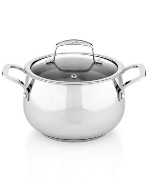 belgique stainless steel 3 qt soup pot with lid only at