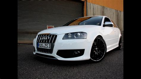 White S3 Audi by Audi S3 The White Pearl Part 1