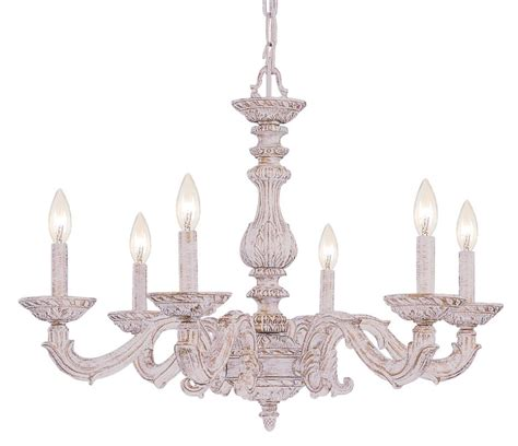 Crystorama Sutton 6 Light Antique White Chandelier Free Shipping Today Overstock Crystorama Lighting 5126 Aw Antique White Sutton 6 Light 28 Quot Wide Wrought Iron Candle