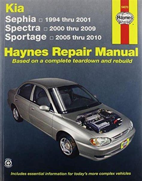 how to download repair manuals 2010 kia sportage seat position control haynes workshop manual kia sephia kia spectra kia sportage repair service 9781563929083 ebay