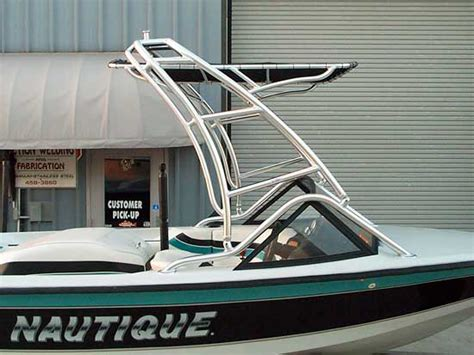 ski boat tower custom ski towers and wakeboard towers by action welding