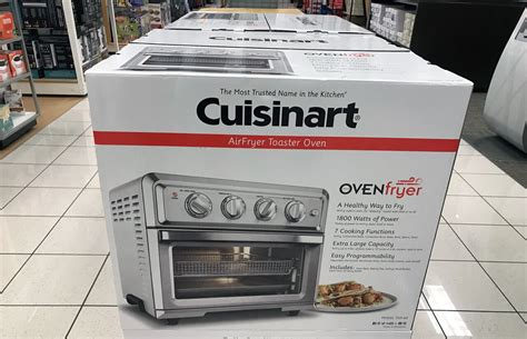 Toaster Ovens At Walmart Cuisinart Air Fryer Toaster Oven 159 99 35 00 Kohl S