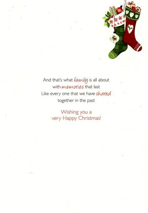 Special Sister & Brother in Law Christmas Greeting Card