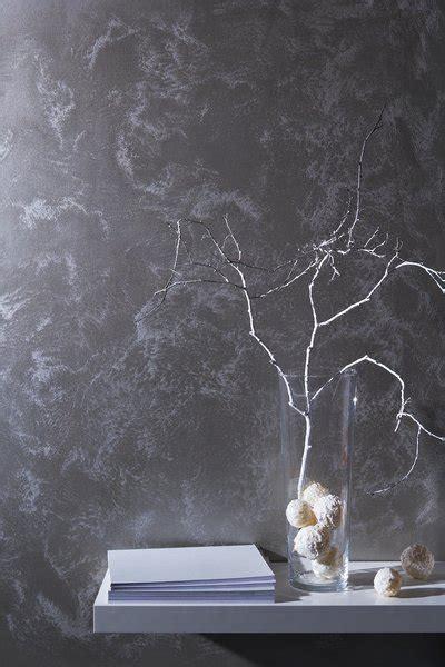 Wandfarbe Silber Metallic by Glanzvolle Wandfarben In Gold Silber Und Metallic