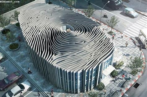 cool building designs fingerprint building in thailand beautiful structures