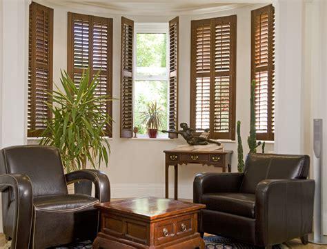 Living Room Window Shutters Plantation Shutters