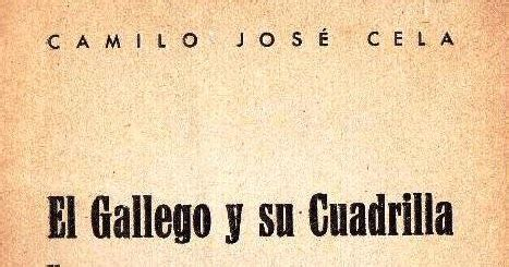 el gallego y su b001v98ew0 el rincon literario de ricardo pr 243 logo a el gallego y su cuadrilla y otros apuntes
