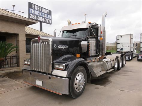 houston kenworth trucks kenworth w900l in texas for sale 121 used trucks from 21 300