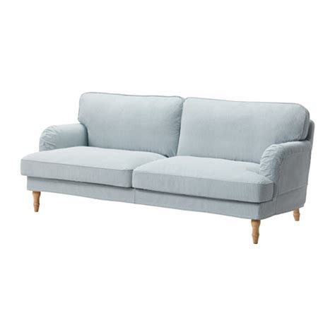 blue sofas ikea stocksund sofa remvallen blue white light brown ikea