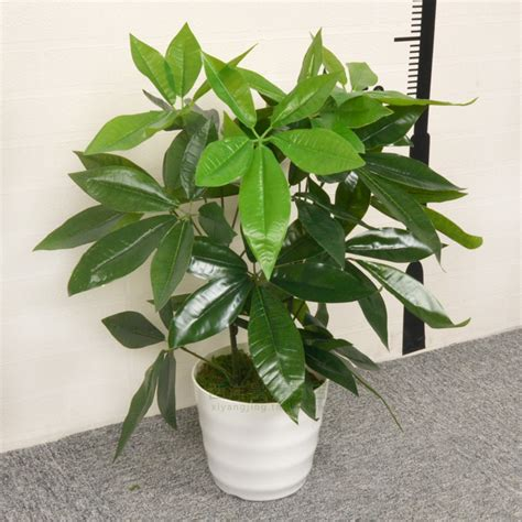 small desk plants high artificial flower set green plant