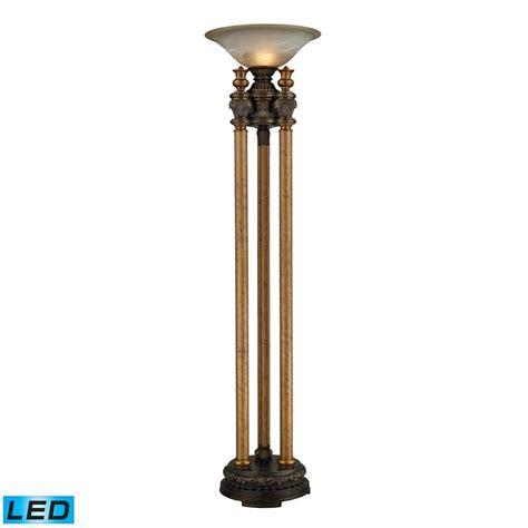 led torchiere floor l dimond lighting athena bronze led torchiere l 113